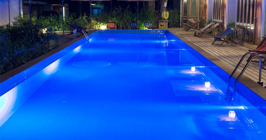 PK Pool and Spa Port Kennedy - Light Installation